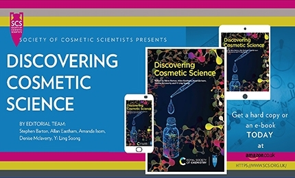 New SCS/RSC 'Discovering Cosmetic Science' Book