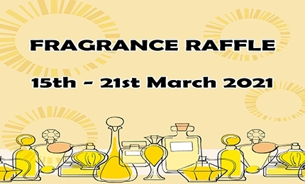 Fragrance Raffle in Aid of Look Good Feel Better