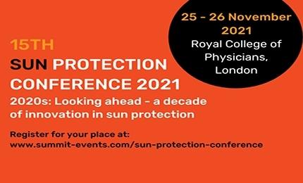Sun Protection Conference 2021, 25-26 November 2021, London
