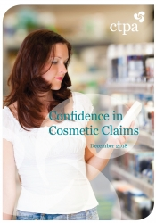 Confidence in Cosmetic Claims