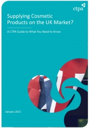 Guide - Supplying Cosmetic Products on the UK Market 2021
