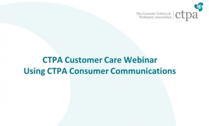 Customer Care - Using CTPA Consumer Communications