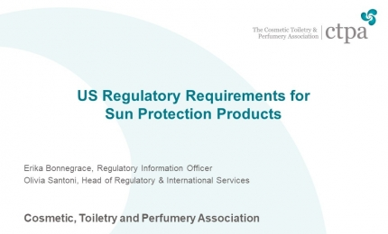 US Regulatory Requirements for Sun Protection