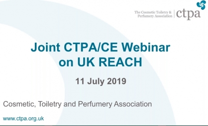 Joint CTPA/CE webinar: The Impact of UK REACH Regulation